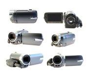 Videocamera digitale stabilita Fotografie Stock Libere da Diritti