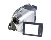 Videocamera moderna Immagini Stock