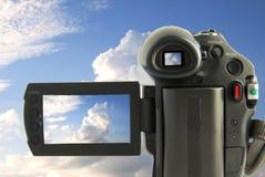Videocamera portatile immagini stock libere da diritti