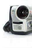 Videocamera portatile d'argento Fotografia Stock