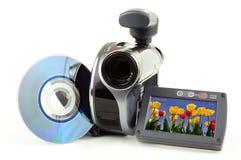 Videocamera portatile di DVD Fotografia Stock Libera da Diritti