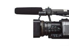 Videocamera portatile di HD fotografie stock libere da diritti