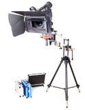 Videocamera portatile di Hd sulla gru Fotografia Stock Libera da Diritti