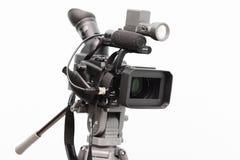 Videocamera portatile digitale professionale Fotografie Stock Libere da Diritti