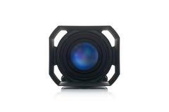 Videocamera portatile Front View di Handycam Fotografie Stock