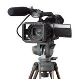 Videocamera portatile professionale immagini stock libere da diritti