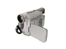 Videocamera portatile tenuta in mano Fotografia Stock Libera da Diritti