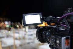 Videocamera professionale Immagine Stock Libera da Diritti