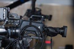 Videocamere fotografia stock