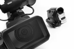 Videocamere Fotografia Stock Libera da Diritti