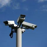 Videocamere di sicurezza Immagine Stock