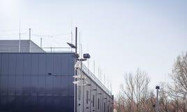 Videocamere di sicurezza Immagine Stock Libera da Diritti