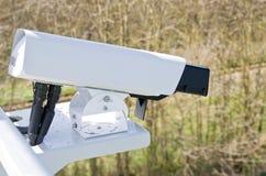 Videocamere per videosorveglianza Fotografie Stock Libere da Diritti