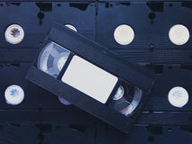 Videocasete Imagen de archivo libre de regalías