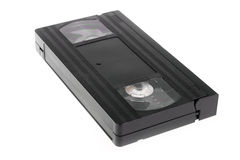 Videocassette do VHS Fotografia de Stock Royalty Free