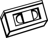 Videocassette do VHS Fotos de Stock