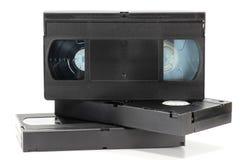 Videocassettes Stock Afbeelding