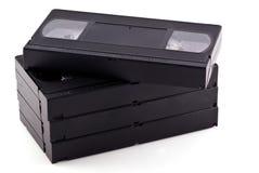 Videocintas. imagen de archivo libre de regalías