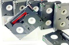 Videocintas  fotos de archivo