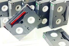 Videocintas  fotografía de archivo libre de regalías