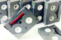 Videocintas  imagen de archivo libre de regalías