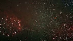 Videoclip stilizzato dei fuochi d'artificio