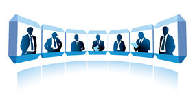 Videoconference Stock Images
