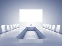 Videoconferencing interior Stock Photo