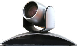 Videoconferentiecamera Stock Foto's