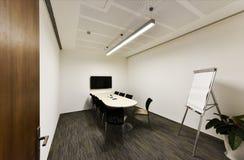 Videoconferentieruimte royalty-vrije stock afbeelding