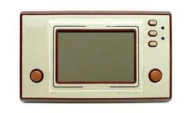 Videoconsola portátil vieja y sucia/Gamepad imagen de archivo libre de regalías