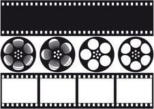 Videofilm Vektor Abbildung