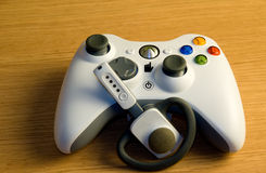 Videogame controller Royalty Free Stock Photos