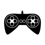Videogame controller icon image Stock Photo
