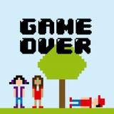 Videogame design Royalty Free Stock Photo