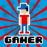Videogame design Royalty Free Stock Photos