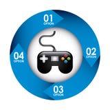 Videogame design Stock Image