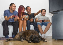 Videogame and fun Stock Photography