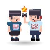 Videogame icon design Stock Photo