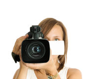 Videographer Stock Image