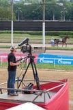 Videographer Fotografia Stock