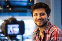 Videographer Royaltyfria Foton