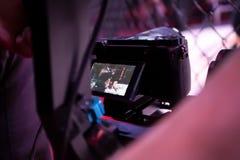 Videographer du travail photos libres de droits