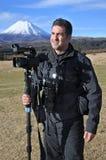 Videographer profesional de la naturaleza, de la fauna y del viaje/fotografía Imágenes de archivo libres de regalías
