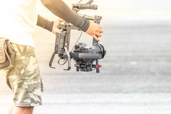 Videographer Royalty Free Stock Photography