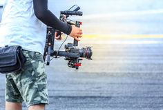 Videographer Royalty Free Stock Images