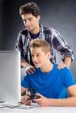 Videojugadores. Imagen de archivo