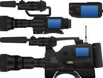 Videokamera Lizenzfreie Stockfotografie