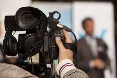 Videokamera Royaltyfria Bilder
