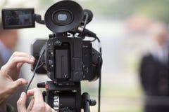 Videokamera Fotografering för Bildbyråer